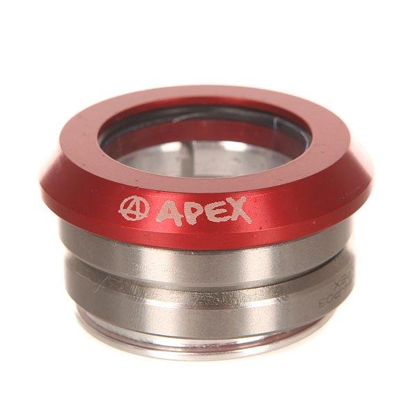 Рулевая Apex Integrated Headset RedРулевая стандартного размера. Подойдёт для любой деки с интегрированной рулевой.Характеристики:Доступна в цветовых вариантах. Материал: 95% алюминий, 5% карбон.<br><br>Цвет: серый,красный<br>Тип: Рулевая<br>Возраст: Взрослый<br>Пол: Мужской