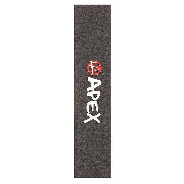 Шкурка для скейтборда Apex Printed Grip Tape Black