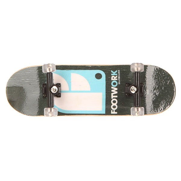 Фингерборд Turbo-FB П9 С Графикой Black/Light Blue/Footwork
