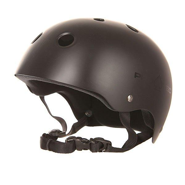 Шлем для скейтборда Pro-Tec Classic Skate Satin BlackКлассический дизайн, надежная защита с 2-ступенчатым мягким внутренником из пены, а также вкладыш из пены EVA в верхней части шлема - делают этот шлем одним из лучших в предстоящем сезоне.Технические характеристики: 2-ступенчатый мягкий внутренник из пены.Вкладыш из пены EVA в верхней части шлема.Вентиляционные отверстия.Логотип Pro-Tec.<br><br>Цвет: черный<br>Тип: Шлем для скейтборда<br>Возраст: Взрослый<br>Пол: Мужской