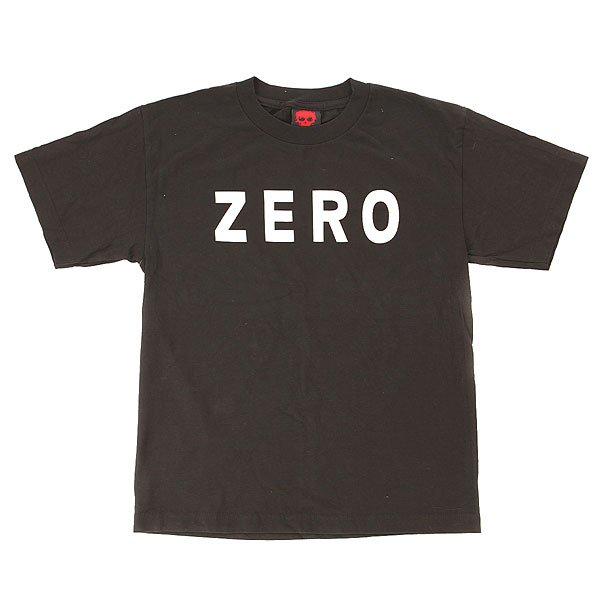 Футболка детская Zero Army Black<br><br>Цвет: черный<br>Тип: Футболка<br>Возраст: Детский