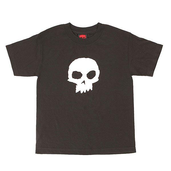 Футболка детская Zero Skull Black<br><br>Цвет: черный<br>Тип: Футболка<br>Возраст: Детский