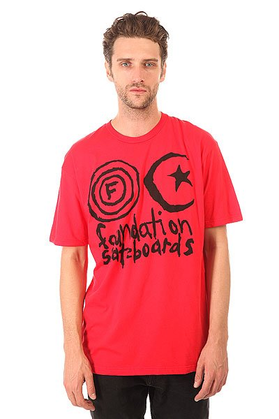Футболка Foundation Franken Official Black/Red<br><br>Цвет: красный<br>Тип: Футболка<br>Возраст: Взрослый<br>Пол: Мужской