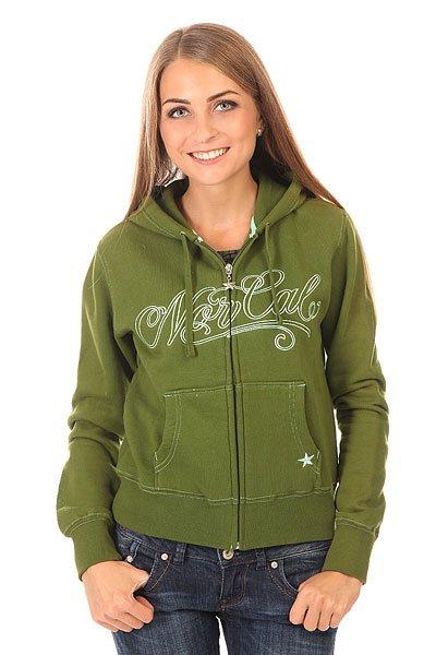 Толстовка классическая женская Nor Cal Por Vida Slim Olive<br><br>Цвет: зеленый<br>Тип: Толстовка классическая<br>Возраст: Взрослый<br>Пол: Женский