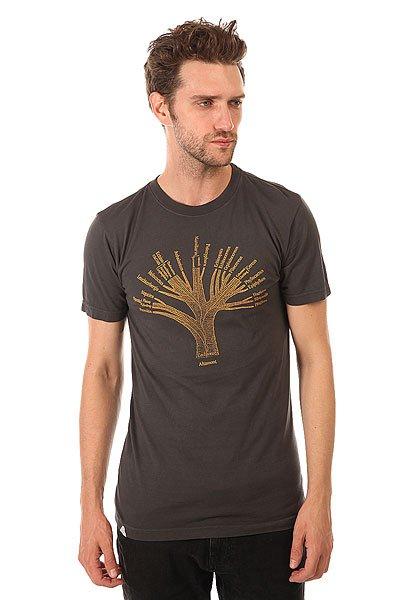 Футболка Altamont Cactus Family Tree Ash<br><br>Цвет: серый<br>Тип: Футболка<br>Возраст: Взрослый<br>Пол: Мужской