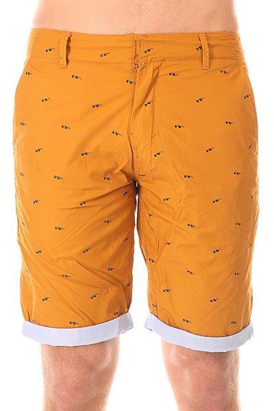 Шорты классические Altamont Susspeck Short Copper<br><br>Цвет: оранжевый<br>Тип: Шорты классические<br>Возраст: Взрослый<br>Пол: Мужской