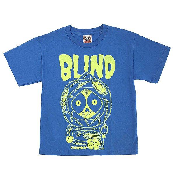 Футболка детская Blind Zombie 2 Royal<br><br>Цвет: синий<br>Тип: Футболка<br>Возраст: Детский