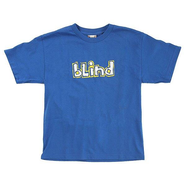 Футболка детская Blind Og Jersey Royal<br><br>Цвет: синий<br>Тип: Футболка<br>Возраст: Детский