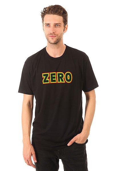Футболка Zero Rasta Bold Premium Rasta<br><br>Цвет: черный<br>Тип: Футболка<br>Возраст: Взрослый<br>Пол: Мужской