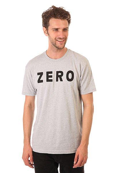 Футболка Zero Army Premium Heather Grey/Black<br><br>Цвет: серый<br>Тип: Футболка<br>Возраст: Взрослый<br>Пол: Мужской