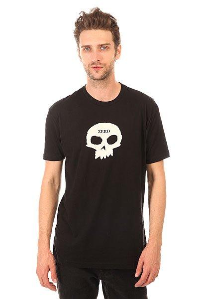 Футболка Zero Single Skull Premium Black<br><br>Цвет: черный<br>Тип: Футболка<br>Возраст: Взрослый<br>Пол: Мужской