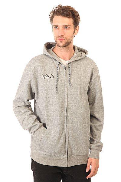 Толстовка классическая K1X Hardwood Zip Hoody Grey<br><br>Цвет: серый<br>Тип: Толстовка классическая<br>Возраст: Взрослый<br>Пол: Мужской