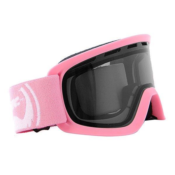 Маска для сноуборда детская Dragon Lil D Pink/Smoke