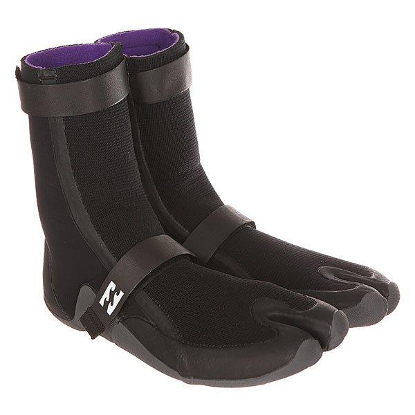 Гидроботинки Billabong Revolution 3mm Boot BlackПростые и одновременно стильные ботинки разработанные специально для комфорта и тепла, призваны обеспечить максимальный комфорт и контроль над доской.Технические характеристики: Неопрен толщиной 3 мм.Проклеенные герметичные швы.Регулируемые ремни.Петля на пятке для удобства.Подошва с отличным сцеплением.<br><br>Цвет: черный<br>Тип: Гидроботинки<br>Возраст: Взрослый<br>Пол: Мужской
