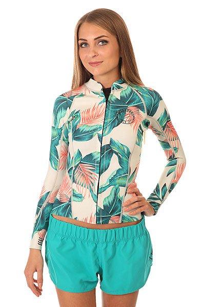 Гидрокостюм (Верх) женский Billabong Surf Capsule Peeky Tropical<br><br>Цвет: мультиколор<br>Тип: Гидрокостюм (Верх)<br>Возраст: Взрослый<br>Пол: Женский