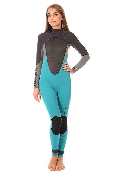 Гидрокостюм (Комбинезон) женский Mystic Star 3/2mm Fullsuit Mint<br><br>Цвет: черный,серый,голубой<br>Тип: Гидрокостюм (Комбинезон)<br>Возраст: Взрослый<br>Пол: Женский