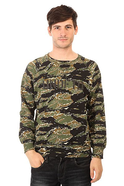 Толстовка свитшот Undefeated Regiment Crew Camo<br><br>Цвет: зеленый,черный,коричневый<br>Тип: Толстовка свитшот<br>Возраст: Взрослый<br>Пол: Мужской