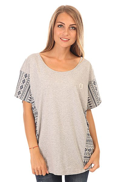 Топ женский Picture Organic Bat Top Grey Melange