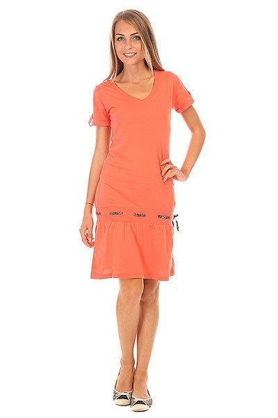 Платье женское Picture Organic Paradise 2 Coral<br><br>Цвет: розовый<br>Тип: Платье<br>Возраст: Взрослый<br>Пол: Женский