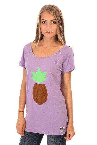 Футболка женская Picture Organic Joliet Purple<br><br>Цвет: фиолетовый<br>Тип: Футболка<br>Возраст: Взрослый<br>Пол: Женский