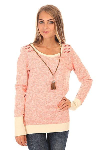 Толстовка свитшот женская Picture Organic Angel Coral<br><br>Цвет: розовый,белый<br>Тип: Толстовка свитшот<br>Возраст: Взрослый<br>Пол: Женский