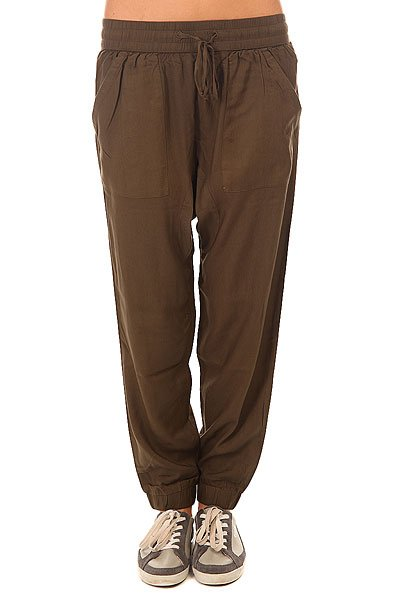 Штаны прямые женские Picture Organic Wellness Khaki штаны прямые billabong new order chino khaki