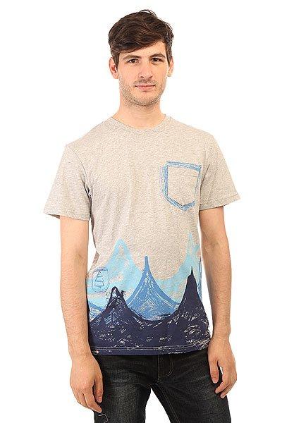 Футболка Picture Organic Lagoon Grey Melange<br><br>Цвет: серый<br>Тип: Футболка<br>Возраст: Взрослый<br>Пол: Мужской