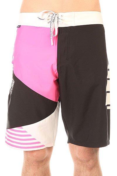 Шорты пляжные Picture Organic Vector 22 Pink<br><br>Цвет: розовый,черный,белый<br>Тип: Шорты пляжные<br>Возраст: Взрослый<br>Пол: Мужской