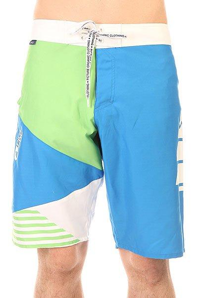 Шорты пляжные Picture Organic Vector 22 Blue<br><br>Цвет: белый,зеленый,синий<br>Тип: Шорты пляжные<br>Возраст: Взрослый<br>Пол: Мужской