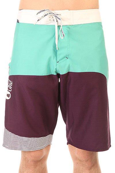 Шорты пляжные Picture Organic Skyline 22 Purple<br><br>Цвет: фиолетовый<br>Тип: Шорты пляжные<br>Возраст: Взрослый<br>Пол: Мужской