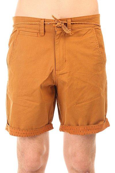 Шорты классические Picture Organic Coop Chino Short Brown шорты chino шорты