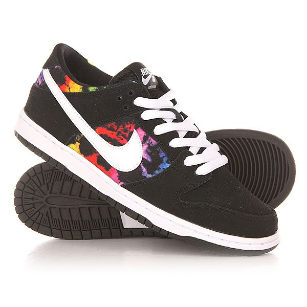 ��������� Nike SB Dunk Low Pro IW Black/White/Multicolor