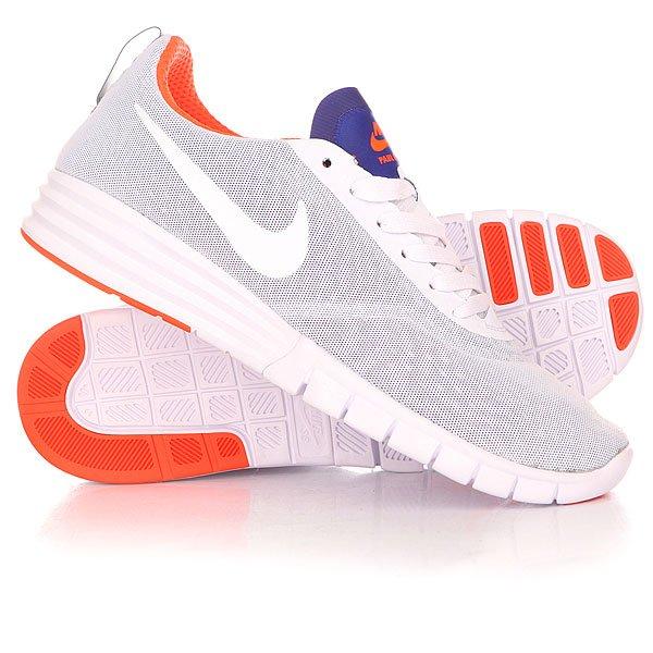Кроссовки Nike SB Lunar Paul Rodriguez 9 White/White/Blue/Crimson