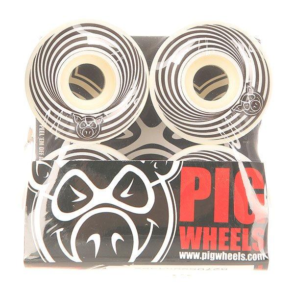 Колеса для скейтборда для скейтборда Pig Vertigo Black 100A 52 mmДиаметр: 52 mm    Жесткость: 100A    Цена указана за комплект из 4-х колесГоловокружительные колеса для стильной езды. Испытывайте их как захотите!Технические характеристики: Материал - полиуретан.Диаметр 52 мм.Жесткость 100А.Рифленая поверхность.Комплект из 4 колес.<br><br>Цвет: белый,черный<br>Тип: Колеса для скейтборда<br>Возраст: Взрослый<br>Пол: Мужской