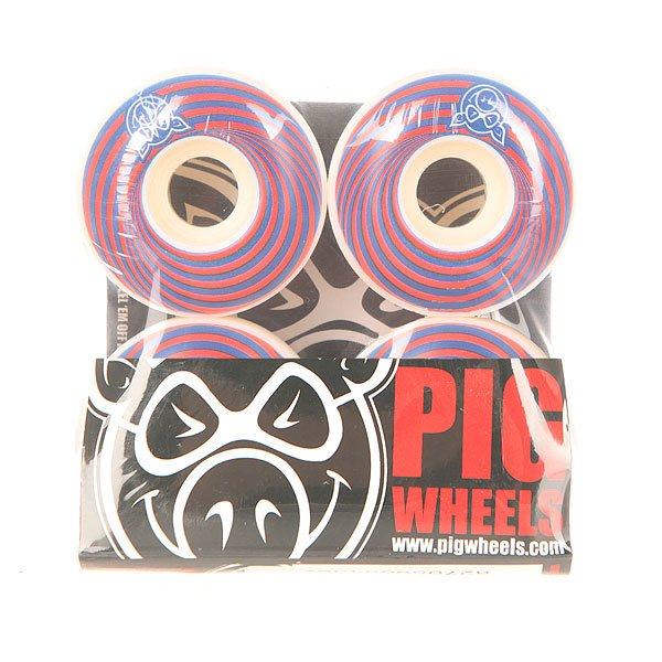 Колеса для скейтборда для скейтборда Pig Vertigo Red 100A 53 mmДиаметр: 53 mm    Жесткость: 100A    Цена указана за комплект из 4-х колесГоловокружительные колеса для стильной езды. Испытывайте их как захотите!Технические характеристики: Материал - полиуретан.Диаметр 53 мм.Жесткость 100А.Рифленая поверхность.Комплект из 4 колес.<br><br>Цвет: красный,синий,белый<br>Тип: Колеса для скейтборда<br>Возраст: Взрослый<br>Пол: Мужской