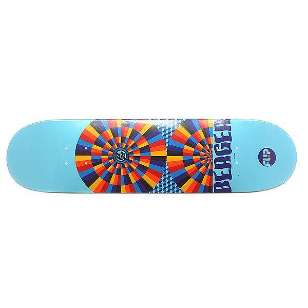 Дека для скейтборда для скейтборда Flip S6 Caples Comix 32.31 x 8.25 (21 см)Ширина деки: 8.25 (21 см)    Длина деки: 32.31 (82.1 см)    Количество слоев: 7Про-модель от Matt Berger из серии комиксов Flip Skateboards. Прочная, но динамичная  дека из клена в оригинальном дизайне от Flip.Технические характеристики: Конструкция из 7 слоев североамериканского клена.Конкейв Medium.Колесная база 36,2 см.<br><br>Цвет: голубой,мультиколор<br>Тип: Дека для скейтборда<br>Возраст: Взрослый<br>Пол: Мужской