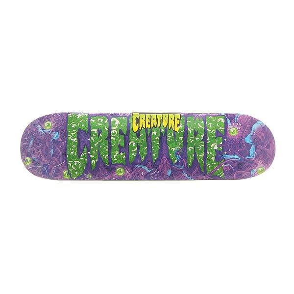 Дека для скейтборда для скейтборда Creature S6 Logo Lg Detox 32 x 8.375 (21.3 см) абсурд дека для скейтборда абсурд logo 1 green 8х32