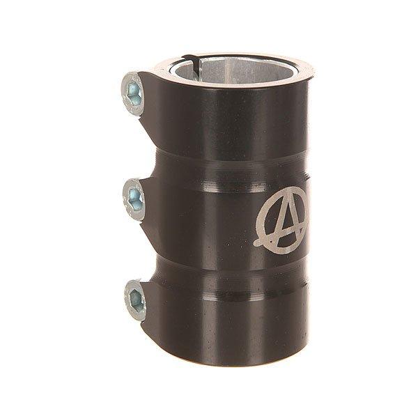 Зажимы Apex Scs Gama BlackЗажим для самоката Apex Scs Gama. Характеристики:Материал: 90% алюминий, 10% сталь. Высота: 78 мм.Совместимость: рули типа SCS. Вес: 247 г.<br><br>Цвет: черный<br>Тип: Зажимы<br>Возраст: Взрослый<br>Пол: Мужской