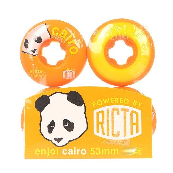 Колеса для скейтборда для скейтборда Enjoi Ricta Cairo Slix Orange 81B 53 mm