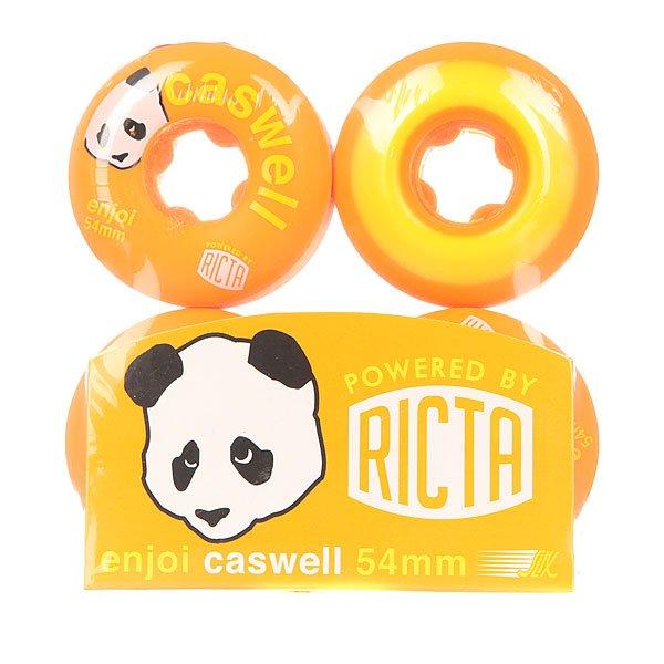 Колеса для скейтборда для скейтборда Enjoi Ricta Caswell Slix Orange 81B 54 mm