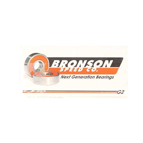 Подшипники для скейтборда Bronson G2 Grey/OrangeBronson Speed Co - новое поколение подшипников премиум класса!Характеристики:Фабричная упаковка - заполненная азотом термоусадочная пленка, которая уменьшает вероятность окисления металла и масла в процессе хранения. Глубокие радиальные канавки - уменьшает вероятность повреждения шариков от бокового удара и поломки. Пыльники с прямыми краями - не выпадут на ходу, малый процент трения, легко чистятся, держат смазку втутри, а пыль и влагу снаружи. Микроканавки - линийные насечки внутри канавок помогают улучшить смазку шариков, а также их скорость и вращение. Новый дизайн клетки - усиленная прочность, что уменьшает возможность деформации клетки при большой нагрузке. Сохраняет точность расположения шариков и равномерную циркуляцию масла.Высокоскоростное керамическое масло - нано-керамические соединения для защиты от износа (влаги, ржавчины и коррозии).<br><br>Цвет: серый,оранжевый<br>Тип: Подшипники<br>Возраст: Взрослый<br>Пол: Мужской