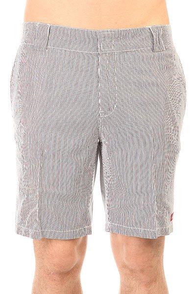Шорты классические Dickies С 182 Shorts Stripe Navy/White<br><br>Цвет: черный,белый<br>Тип: Шорты классические<br>Возраст: Взрослый<br>Пол: Мужской