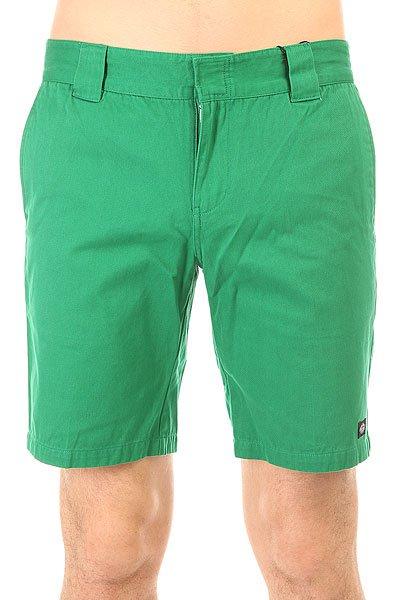 Шорты классические Dickies С 182 Gd Short Emerald Green<br><br>Цвет: зеленый<br>Тип: Шорты классические<br>Возраст: Взрослый<br>Пол: Мужской