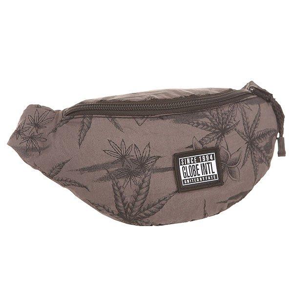 Сумка поясная Globe Richmond Side Bag Black PakaЧасто нам не хватает карманов, что бы сложить все необходимое и такая поясная сумка станет прекрасным решением проблемы.Технические характеристики: Основное отделение на молнии.Поясной ремень с пластиковой застежкой.Легкий тропический принт.<br><br>Цвет: серый<br>Тип: Сумка поясная<br>Возраст: Взрослый<br>Пол: Мужской