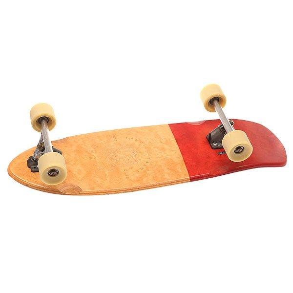 Скейт круизер Globe Stubby Half Dip Natural/Red 10 x 30 (76.2 см)Широкий и устойчивый круизер на жесткой подвеске.Технические характеристики: Длина - 76,2 см, ширина - 25,4 см.Колесная база 41,3 см.Конструкция деки из клена и эпоксидной смолы Resin-7.Мягкий конкейв с киктейлом.Подвески Slant reverse kingpin 180 мм.Производительные колеса из уретана 62мм 83А. Колеса устойчивы к истиранию, гладкие, быстрые и обеспечивают отличное сцепление.Быстрые подшипники ABEC 7.Однотонная шкурка.Встроенный металлический значок с логотипом Globe.Принт на деке, нанесенный методом лазерной гравировки.<br><br>Цвет: бежевый,красный<br>Тип: Скейт круизер<br>Возраст: Взрослый<br>Пол: Мужской