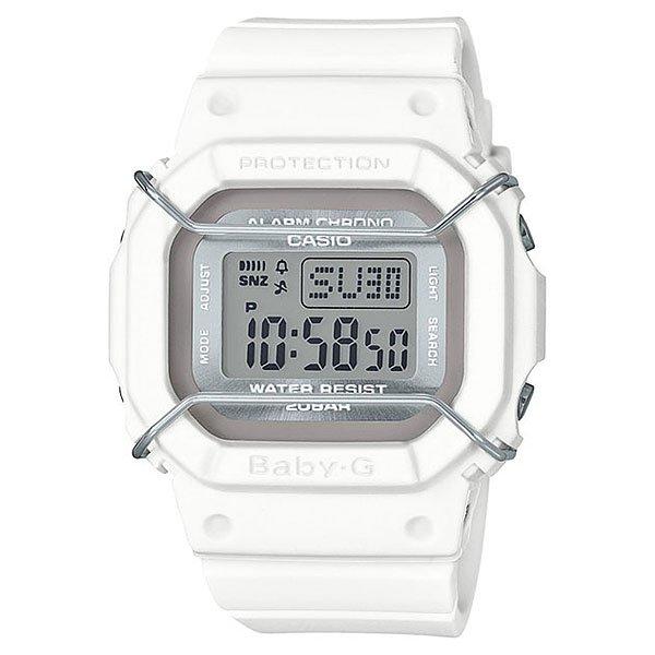 Электронные часы женские Casio Baby-g Bgd-501um-7e True WhiteНаручные детские часы в ударопрочном корпусе из полимерного пластика с широким набором функций на каждый день.Технические характеристики: Электролюминесцентная подсветка.Ударопрочная конструкция защищает от ударов и вибрации.Секундомер.Таймер обратного отсчета.Будильник - до 5 независимых ежедневных сигналов.Функция повтора сигнала будильника.Ежечасный сигнал.Полностью автоматический календарь.12/24-часовое отображение времени.Минеральное стекло.Корпус из полимерного пластика.Ремешок из полимерного материала.Срок службы аккумулятора - 3 года.<br><br>Цвет: белый<br>Тип: Электронные часы<br>Возраст: Взрослый<br>Пол: Женский
