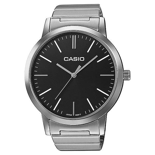 Кварцевые часы Casio Collection Ltp-e118d-1a GreyЭлегантные наручные часы в прочном корпусе из нержавеющей стали.Технические характеристики: Кварцевый механизм.Минеральное стекло.Корпус из нержавеющей стали.Браслет из нержавеющей стали.Регулируемая застежка.Срок службы аккумулятора - 3 года.<br><br>Цвет: ,серый<br>Тип: Кварцевые часы<br>Возраст: Взрослый<br>Пол: Мужской