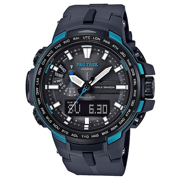 Электронные часы Casio G-Shock Sport Prw-6100y-1a Dark Grey/Black ��лектронные часы casio sport prw 3500 1e black