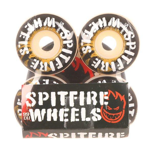 Колеса для скейтборда для скейтборда Spitfire Inflammable White 99A 52 mmДиаметр: 52 mm    Жесткость: 99A    Цена указана за комплект из 4-х колес<br><br>Цвет: черный,белый,желтый<br>Тип: Колеса для скейтборда<br>Возраст: Взрослый<br>Пол: Мужской