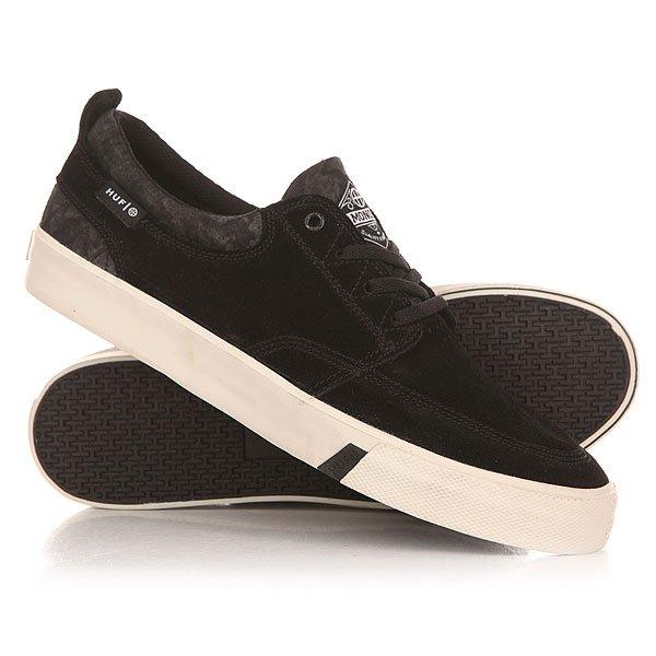 Кеды кроссовки низкие Huf Ramondetta Overdyed Camo<br><br>Цвет: черный<br>Тип: Кеды низкие<br>Возраст: Взрослый<br>Пол: Мужской